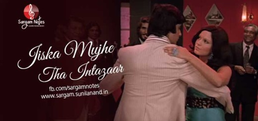Amitabh Bachchan Song Notes Archives Sargam Learn Indian Music Visit vinodvkk.blogspot.in for different songs played vinodnotations.blogspot.in for songs lyrics and notations. sargam notes