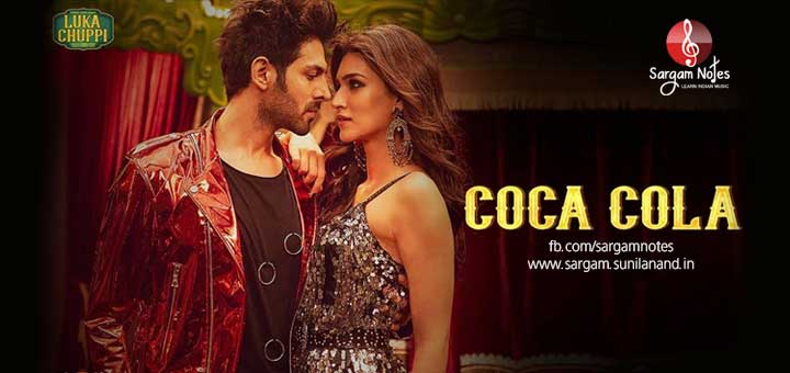 Coca Cola Full Hindi Song Piano Notes In Harmonium Sargam Harmonium hindi songs notes on mainkeys. sargam notes